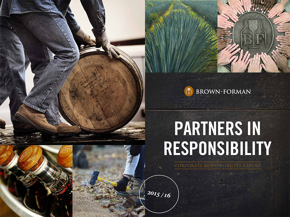 Cover of 2015 through 2016 Partners in Responsibility report