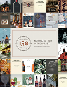 Cover of 2017 through 2018 Brown-Forman Corporate Responsibility Report